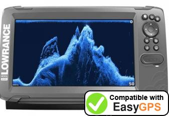Download your Lowrance HOOK2-9 waypoints and tracklogs for free with EasyGPS