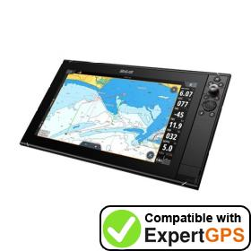 Download your B&G Zeus3S 16 waypoints and tracklogs and create maps with ExpertGPS