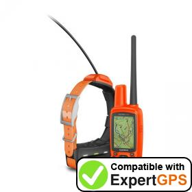 Download your Garmin Astro 430 waypoints and tracklogs and create maps with ExpertGPS