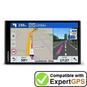 Download your Garmin Camper 770 LMT-D waypoints and tracklogs and create maps with ExpertGPS