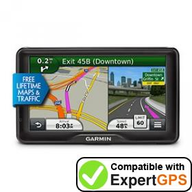 Download your Garmin dēzl 760LMT waypoints and tracklogs and create maps with ExpertGPS