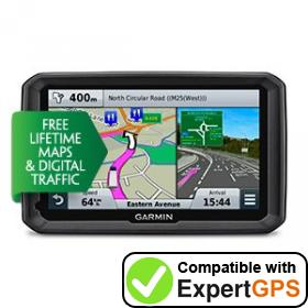 Download your Garmin dēzl 770LMT-D waypoints and tracklogs and create maps with ExpertGPS