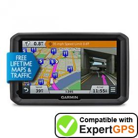 Download your Garmin dēzl 770LMTHD waypoints and tracklogs and create maps with ExpertGPS