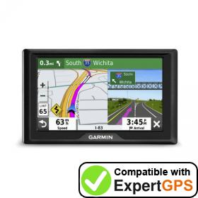 ExpertGPS supports the Garmin Drive