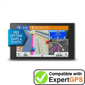 Download your Garmin DriveLuxe 50LMT-D waypoints and tracklogs and create maps with ExpertGPS