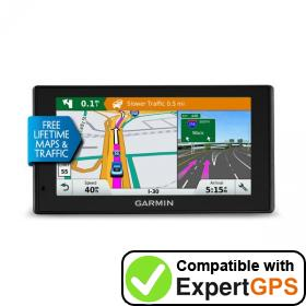 Download your Garmin DriveSmart 60LMT waypoints and tracklogs and create maps with ExpertGPS