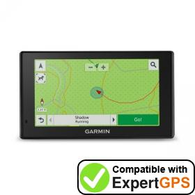 Download your Garmin DriveTrack 70LM waypoints and tracklogs and create maps with ExpertGPS