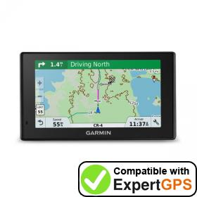 Download your Garmin DriveTrack 70LMT waypoints and tracklogs and create maps with ExpertGPS