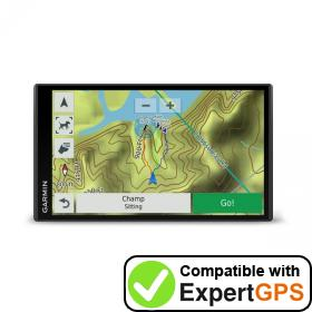 Download your Garmin DriveTrack 71 waypoints and tracklogs and create maps with ExpertGPS