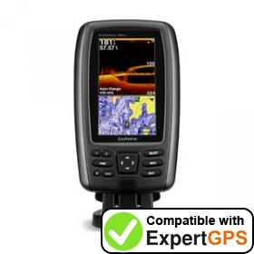 Download your Garmin echoMAP 43dv waypoints and tracklogs and create maps with ExpertGPS