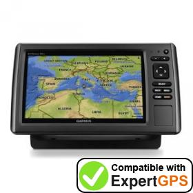 Download your Garmin echoMAP 91sv waypoints and tracklogs and create maps with ExpertGPS