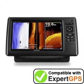 Download your Garmin echoMAP CHIRP 95sv waypoints and tracklogs and create maps with ExpertGPS