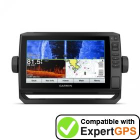Download your Garmin ECHOMAP Plus 94sv waypoints and tracklogs and create maps with ExpertGPS