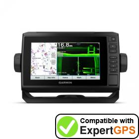 Download your Garmin ECHOMAP UHD 75sv waypoints and tracklogs and create maps with ExpertGPS