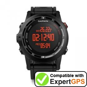 Download your Garmin fēnix 2 waypoints and tracklogs and create maps with ExpertGPS