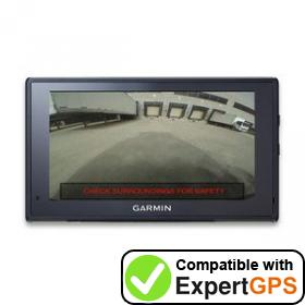Download your Garmin fleet 670V waypoints and tracklogs and create maps with ExpertGPS