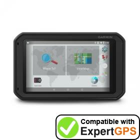 Download your Garmin fleet 780 waypoints and tracklogs and create maps with ExpertGPS
