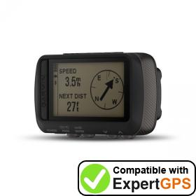 Download your Garmin Foretrex 601 waypoints and tracklogs and create maps with ExpertGPS