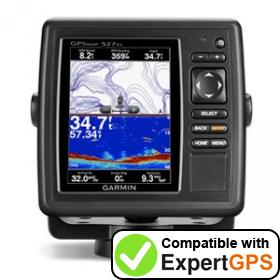 Download your Garmin GPSMAP 527xs waypoints and tracklogs and create maps with ExpertGPS