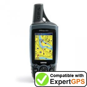 Download your Garmin GPSMAP 60Cx waypoints and tracklogs and create maps with ExpertGPS