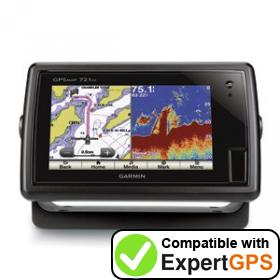 Download your Garmin GPSMAP 721xs waypoints and tracklogs and create maps with ExpertGPS