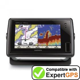 Download your Garmin GPSMAP 751xs waypoints and tracklogs and create maps with ExpertGPS