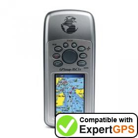 Download your Garmin GPSMAP 76CS waypoints and tracklogs and create maps with ExpertGPS