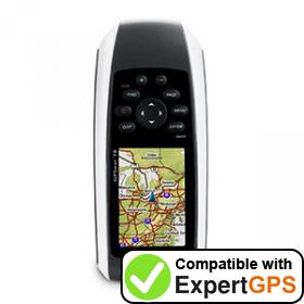 Download your Garmin GPSMAP 78 waypoints and tracklogs and create maps with ExpertGPS