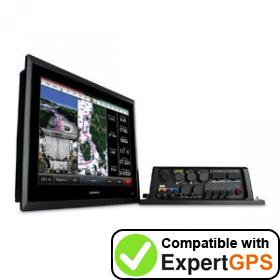 Download your Garmin GPSMAP 8500 Black Box waypoints and tracklogs and create maps with ExpertGPS