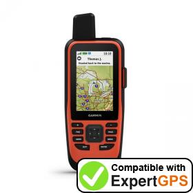 Download your Garmin GPSMAP 86i waypoints and tracklogs and create maps with ExpertGPS