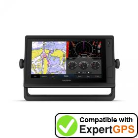 Download your Garmin GPSMAP 922 Plus waypoints and tracklogs and create maps with ExpertGPS