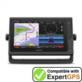 Download your Garmin GPSMAP 922 waypoints and tracklogs and create maps with ExpertGPS
