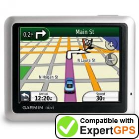 Download your Garmin nüvi 1100 waypoints and tracklogs and create maps with ExpertGPS