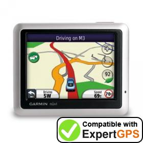 Download your Garmin nüvi 1240 waypoints and tracklogs and create maps with ExpertGPS