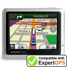 Download your Garmin nüvi 1250 waypoints and tracklogs and create maps with ExpertGPS
