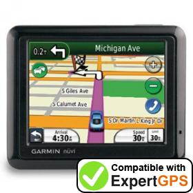 Download your Garmin nüvi 1260T waypoints and tracklogs and create maps with ExpertGPS