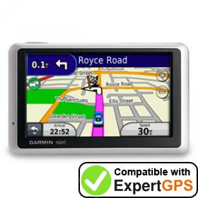 Download your Garmin nüvi 1340T waypoints and tracklogs and create maps with ExpertGPS