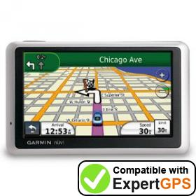 Download your Garmin nüvi 1350 waypoints and tracklogs and create maps with ExpertGPS