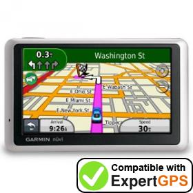 Download your Garmin nüvi 1350T waypoints and tracklogs and create maps with ExpertGPS