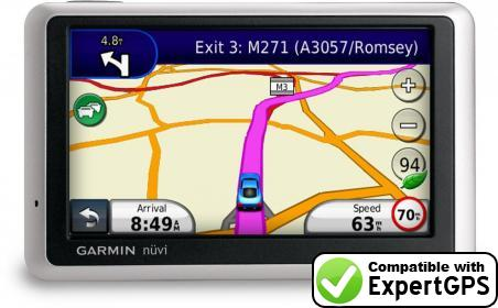 Download your Garmin nüvi 1355 waypoints and tracklogs and create maps with ExpertGPS
