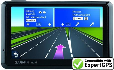 Download your Garmin nüvi 1375T waypoints and tracklogs and create maps with ExpertGPS