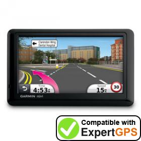 Download your Garmin nüvi 1440 waypoints and tracklogs and create maps with ExpertGPS