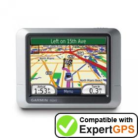 Download your Garmin nüvi 200 waypoints and tracklogs and create maps with ExpertGPS