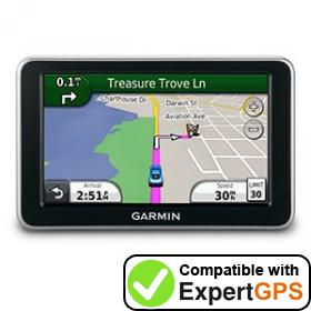 Download your Garmin nüvi 2300 waypoints and tracklogs and create maps with ExpertGPS