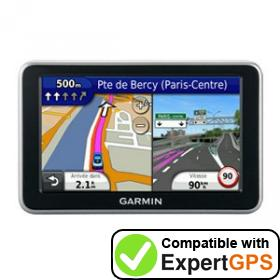 Download your Garmin nüvi 2340 waypoints and tracklogs and create maps with ExpertGPS
