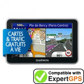 Download your Garmin nüvi 2340LMT waypoints and tracklogs and create maps with ExpertGPS