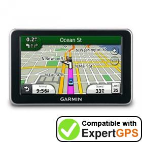 Download your Garmin nüvi 2450LMT waypoints and tracklogs and create maps with ExpertGPS