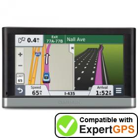 Download your Garmin nüvi 2507 waypoints and tracklogs and create maps with ExpertGPS