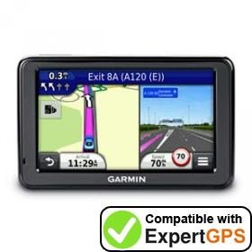 Download your Garmin nüvi 2515 waypoints and tracklogs and create maps with ExpertGPS