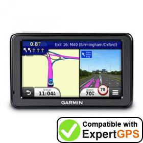 Download your Garmin nüvi 2545 waypoints and tracklogs and create maps with ExpertGPS
